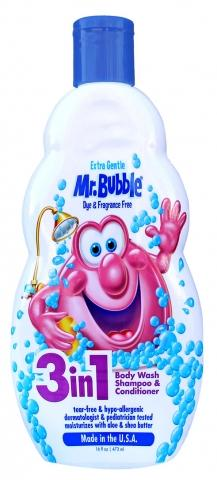 Mr. Bubble Launches 3-in-1 SKU