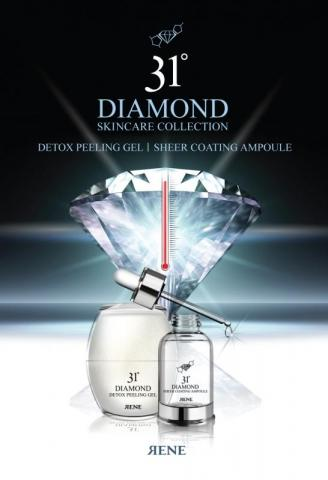 Diamond-based skin care