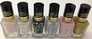 A variety of nail looks out now.