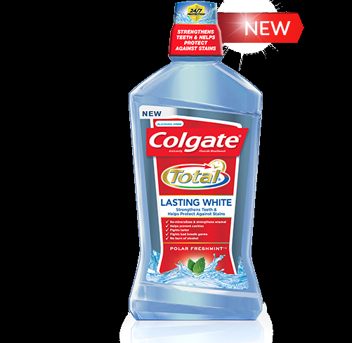 Colgate Total Adds New Mouthwash