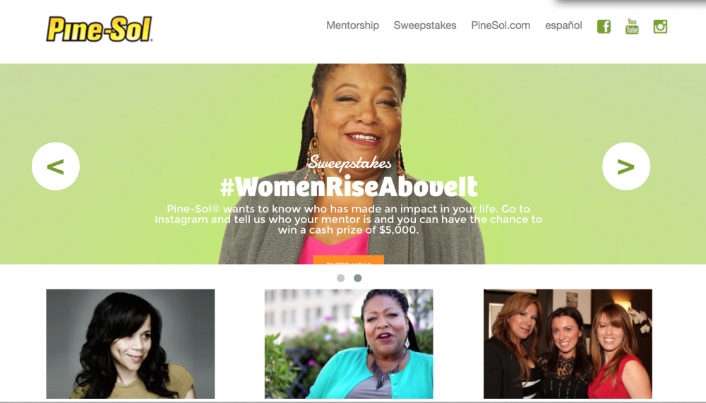 Pine-Sol Ramps Up Empower Women Campaign