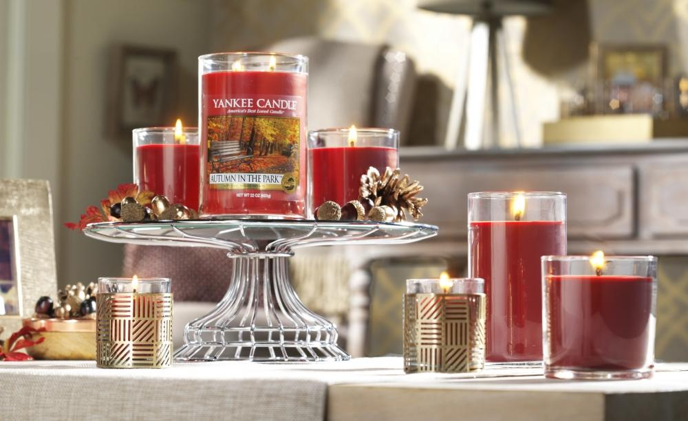 Autumn Unveiled at Yankee Candle