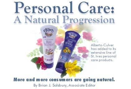 Personal Care: A Natural Progression