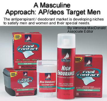 A Masculine Approach: AP/Deos Target Men - HAPPI