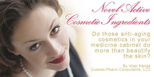 Novel Active Cosmetic Ingredients
