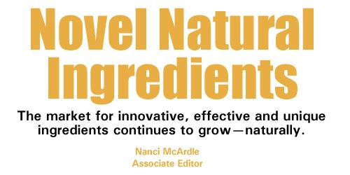Novel Natural Ingredients