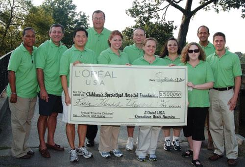L'Oréal Golf Outing Raises $500K for Children's Hospital