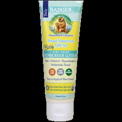 Badger Recalls Sunscreens