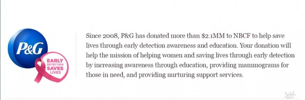 P&G Rallies for BCA